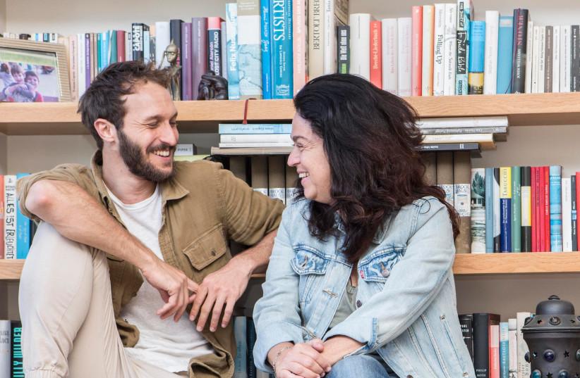 Udi Sahar and Naomi Bubis (photo credit: OR DANON)