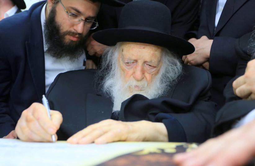 Rabbi Haim Kanievski  (photo credit: DAVID ZER)