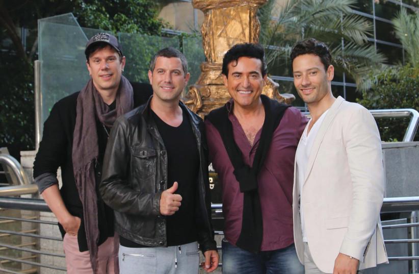 Singing quartet 'Il Divo' (photo credit: SIVAN FARAG)