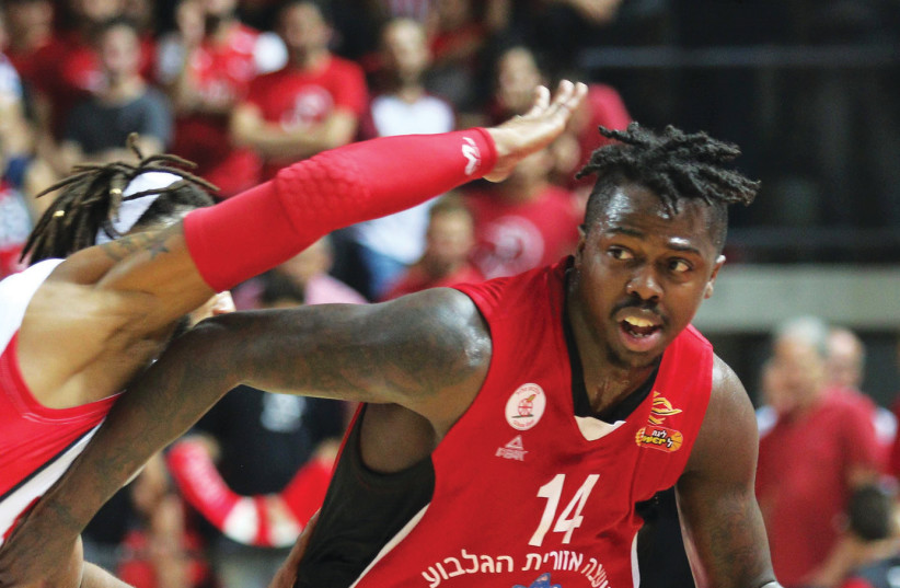 Hapoel Jerusalem looks to add some backcourt depth next season with the signing of J'Covan Brown, who played this year at Gilboa/Galil (photo credit: ADI AVISHAI)