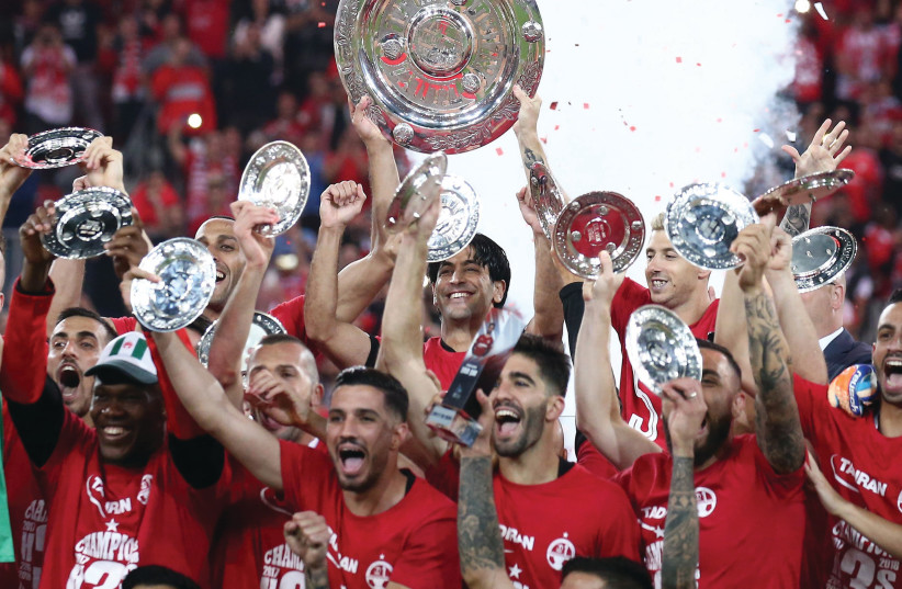 AFTER WINNING the Israeli championship last month, Hapoel Beersheba is ready to embark on its European cup qualification campaign. (photo credit: DANNY MARON)