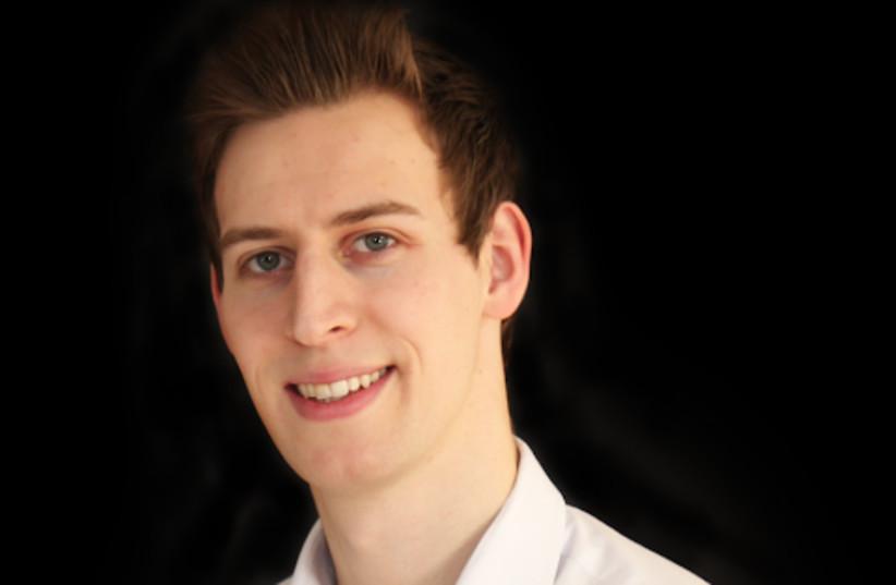 Daniel Tannenbaum, 28, is the founder of Guarantor Loan Comparison (photo credit: RACHEL GAON)