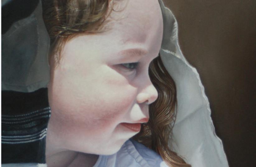 The Upsherin, Oil on Canvas , Itamar Rubner (photo credit: COURTESY THE ARTSHELTERGALLERY)