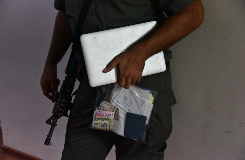 Evidence seized in police operations, June 24, 2018. (photo credit: POLICE SPOKESPERSON'S UNIT)