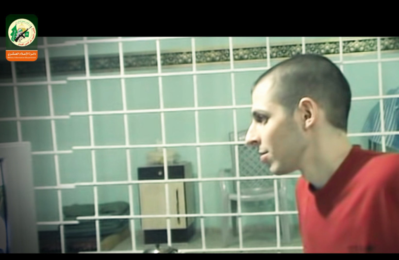 IDF Soldier Gilad Schalit in Hamas custody (photo credit: HAMAS MEDIA)