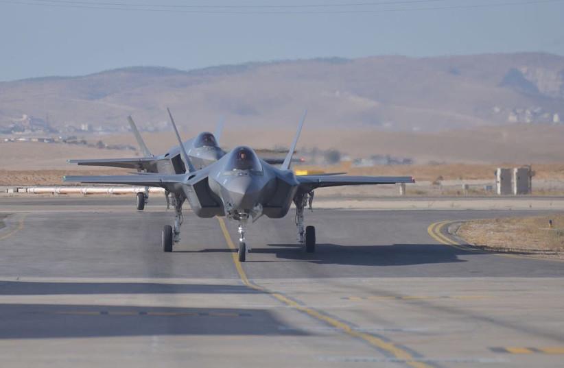 F-35 Adir Jets (photo credit: COURTESY IAF)