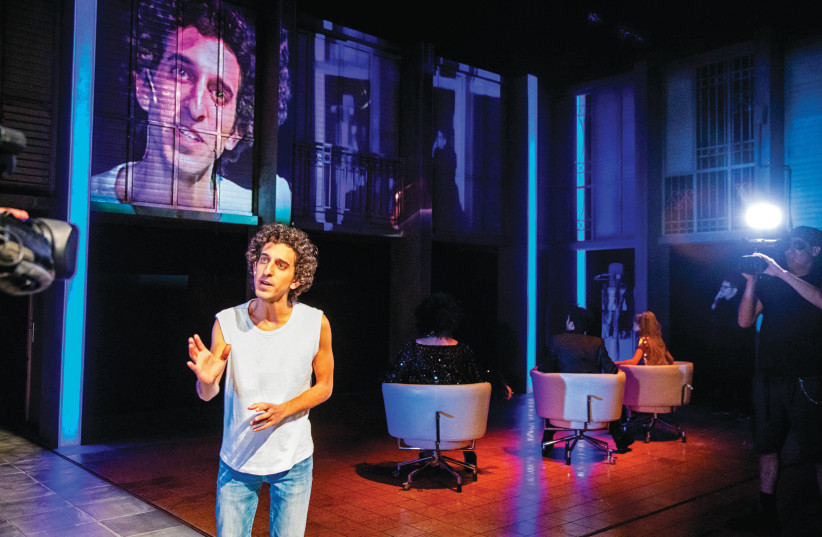A scene from 'Romeo and Mum' at the Cameri theater (photo credit: COURTESY CAMERI)