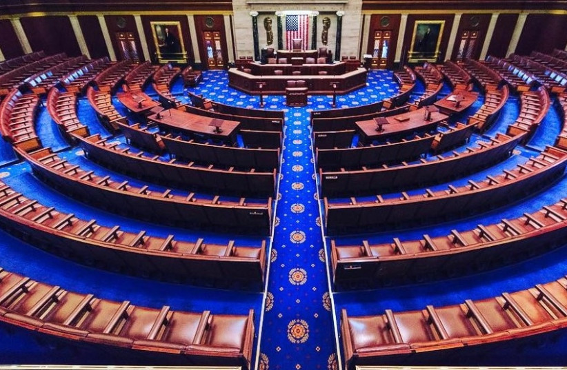 United States House of Representatives chamber at the United States Capitol in Washington D.C. (photo credit: Wikimedia Commons)