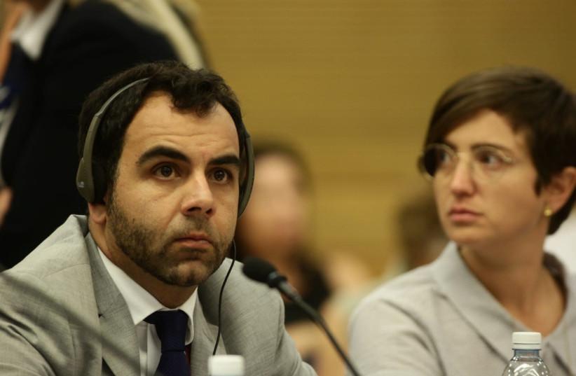 Human Rights Watch representative Omar Shakir (photo credit: HILLEL MAEIR/TPS)