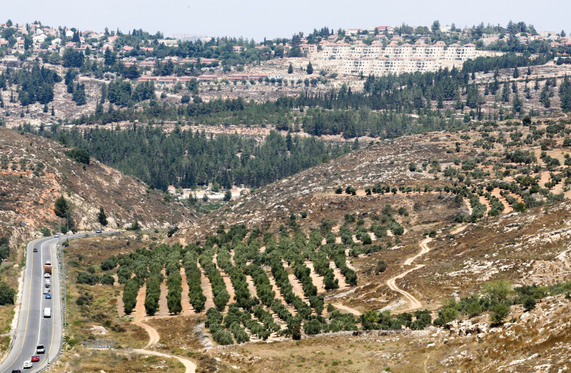 A VIEW of the settlement of Eli, in Samaria. Yesha Council deputy head Yigal Dilmoni said yesterday that turning Judea and Samaria into 'Gush Dan east' could significantly help the country's housing problems. (photo credit: MARC ISRAEL SELLEM)