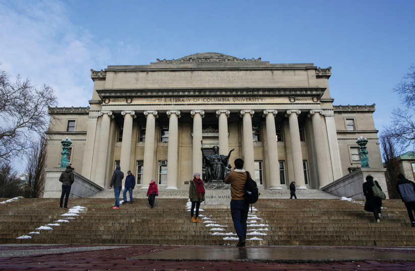 Columbia University president opposes student referendum supporting BDS
