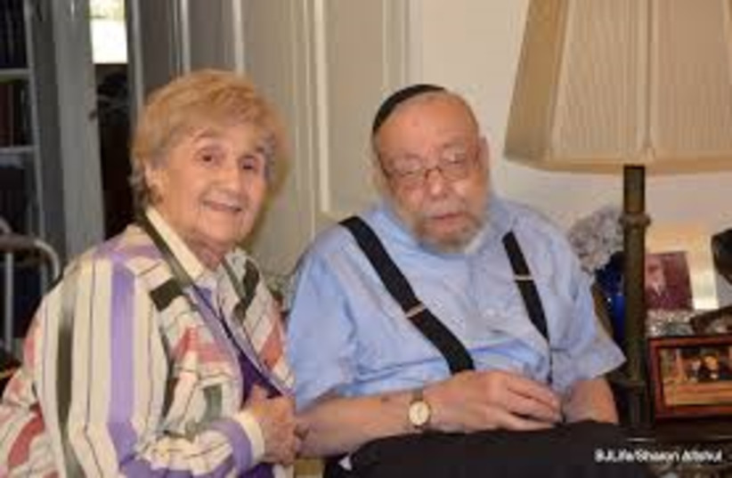 Rabbi Emanuel and Rena Quint (photo credit: SHARON ALTSHUL)