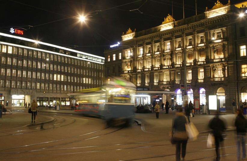 Zurich (photo credit: ARND WIEGMANN / REUTERS)