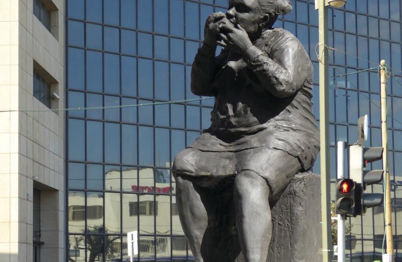 DOLIN'S PROPOSED MONUMENT (photo credit: KEREN DOLIN)