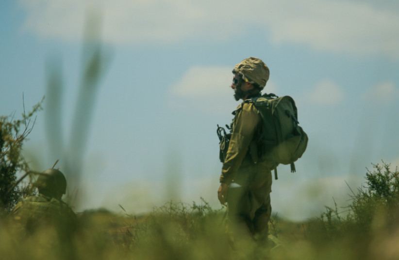 An IDF soldier (photo credit: MARC ISRAEL SELLEM)