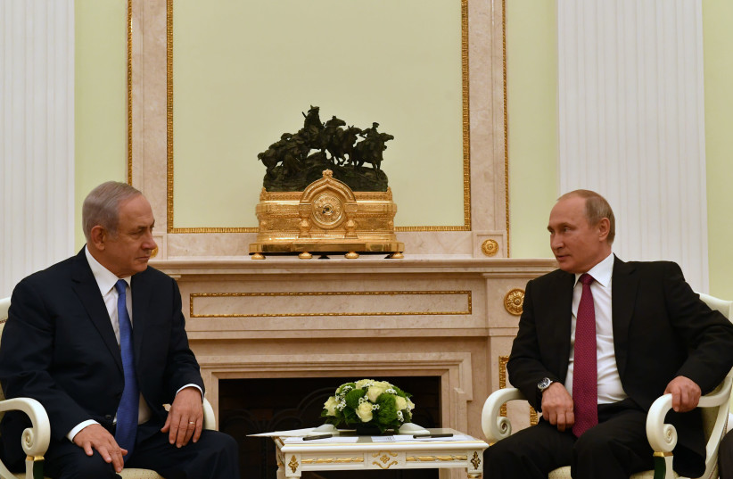 Vladimir Putin Russia Working On A Free Trade Zone With Israel And Egypt The Jerusalem Post