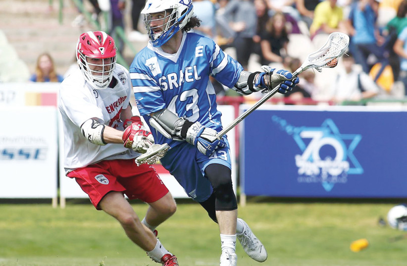 ISRAEL IS SET to kick off hosting the 2018 FIL World Lacrosse Championship with a match against Jamaica tonight at the Netanya Stadium.  (photo credit: ISRAEL LACROSSE)