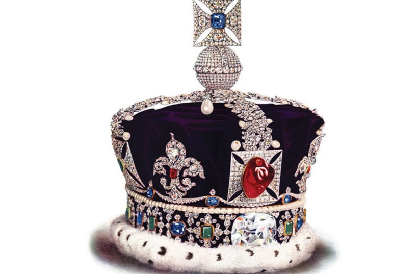 IMPERIAL STATE crown of the United Kingdom (photo credit: Wikimedia Commons)