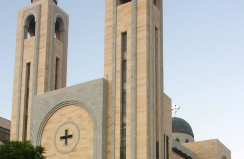 The Coptic Church in Ramallah (photo credit: WIKIMEDIA / RALF LOTYS (SICHERLICH))
