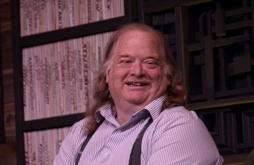 Food critic Jonathan Gold (photo credit: BY PUNKTOAD FROM OAKLAND US/VIA WIKIMEDIA COMMONS)