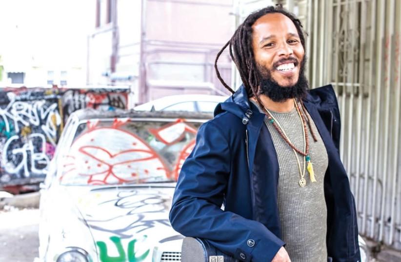 Ziggy Marley (photo credit: GREGORY BOJORQUES)