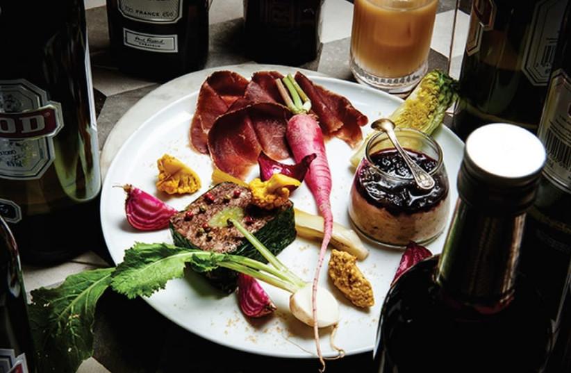 A dish at Hotel de Ville (photo credit: Courtesy)