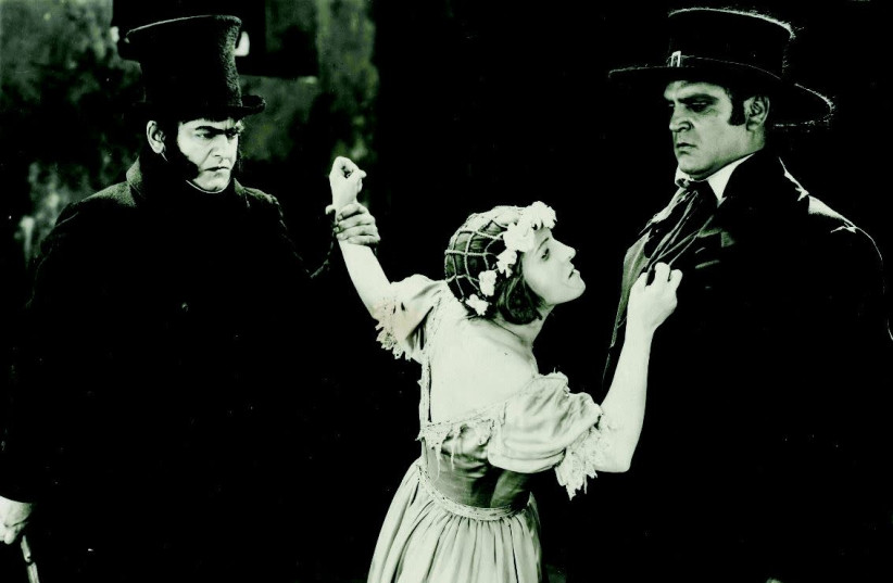 A SCENE FROM the 1925 film 'Les Miserables' (photo credit: JERUSALEM FILM FESTIVAL)
