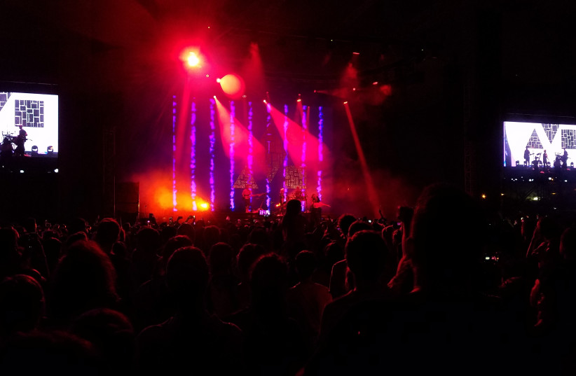 Clean Bandit in concert in Israel  (photo credit: AMY SPIRO)
