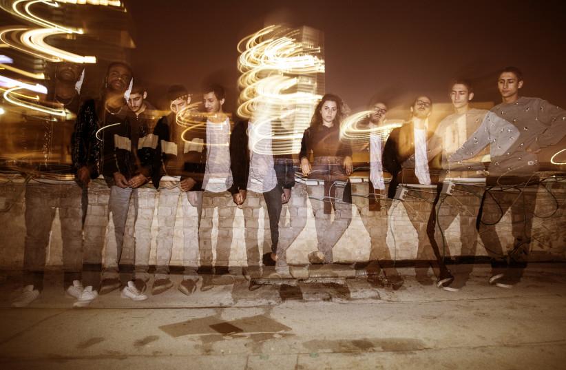 MODERN PHASE with rapper Godel Pierce (left) (photo credit: GAYA SA'ADON)