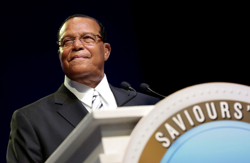Louis Farrakhan (photo credit: REUTERS/REBECCA COOK)