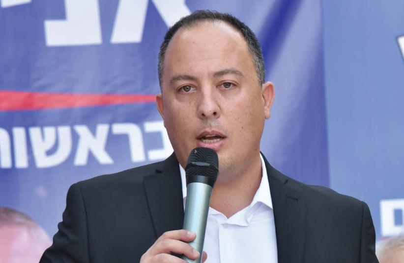 JERUSALEM MAYORAL candidate Avi Salman (photo credit: ILAN AMOUYAL)