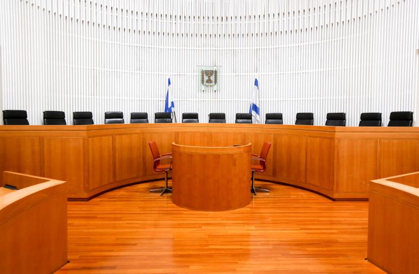Israeli Supreme Court (photo credit: MARC ISRAEL SELLEM/THE JERUSALEM POST)