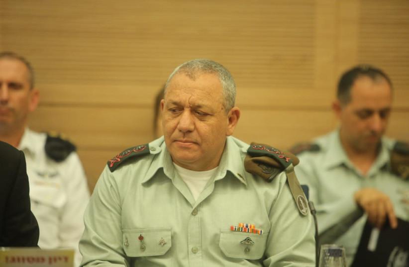 Gadi Eizenkot IDF Chief of Staff Lt.-Gen. August 8, 2018. (photo credit: MARC ISRAEL SELLEM/THE JERUSALEM POST)