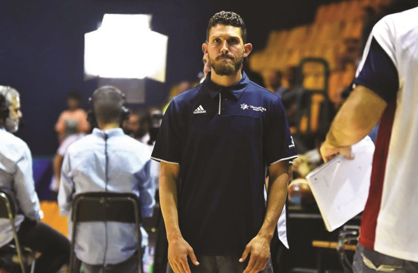 WHILE OPERATING behind the scenes, Oleh Jake Rauchbach has helped improve the mindset of Israeli basketball players in myriad ways, August 9, 2018 (photo credit: DOV HALICKMAN/COURTESY)