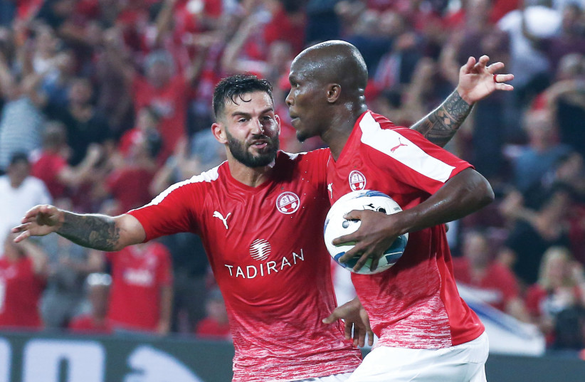 HAPOEL BEERSHEBA rallied from an early two-goal deficit to earn a 2-2 first-leg draw with APOLE Nicosia on Thursday night in Europa League qualification. (photo credit: DANNY MARON)