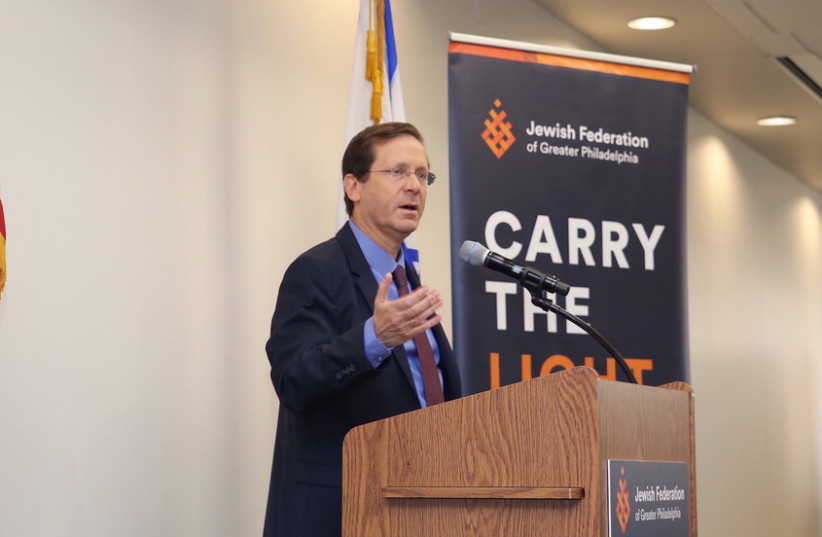 Jewish Agency Chairman Isaac Herzog calls for unity and pluralism in first US visit (photo credit: PR)