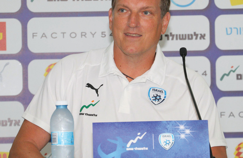 ANDREAS HERZOG was introduced as Israel's national  team soccer coach this week, with his first meaningful games coming next month against Albania and Scotland (August 14, 2018) (photo credit: ADI AVISHAI)