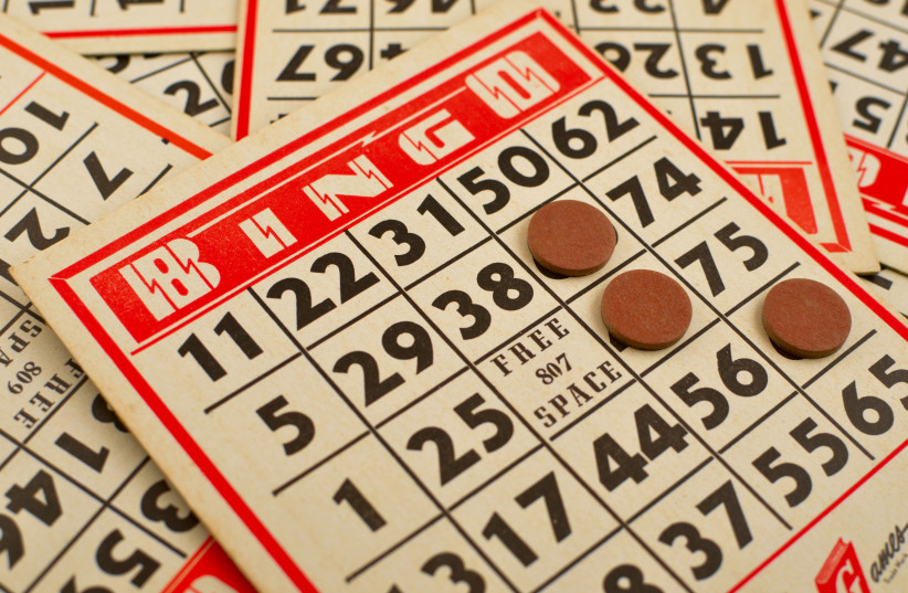 Bingo cards and game  (photo credit: EDWIN TORRES FROM USA)