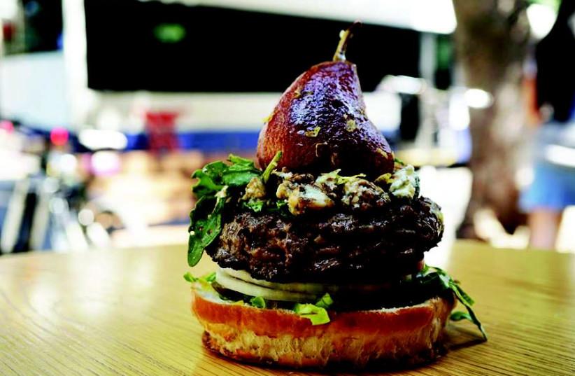 The little burger shop burger  (photo credit: COURTESY FACEBOOK)