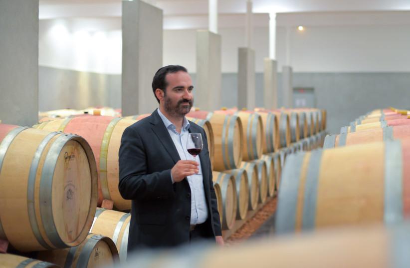 Menahem Israelievitch, winemaker of Royal Wine Europe (photo credit: Courtesy)