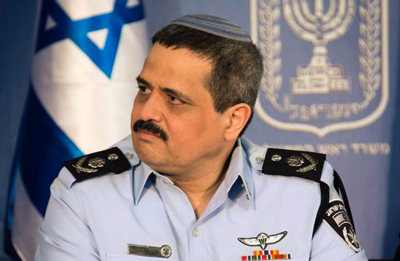 Chief of Police Roni Alsheikh (photo credit: POLICE SPOKESPERSON'S UNIT)