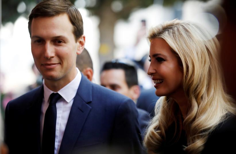 Jared Kushner and Ivanka Trump (photo credit: REUTERS)
