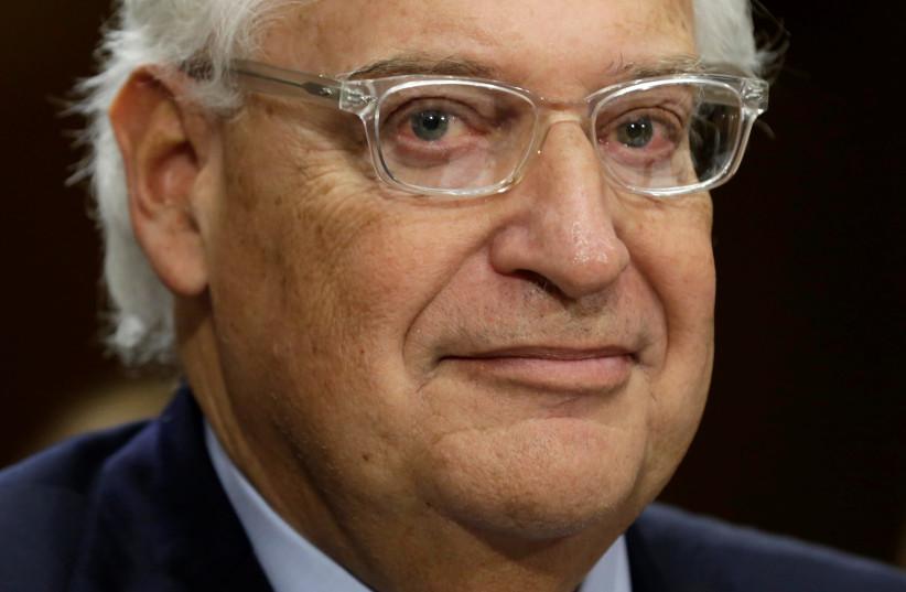 United States Ambassador to Israel David Friedman (photo credit: REUTERS)