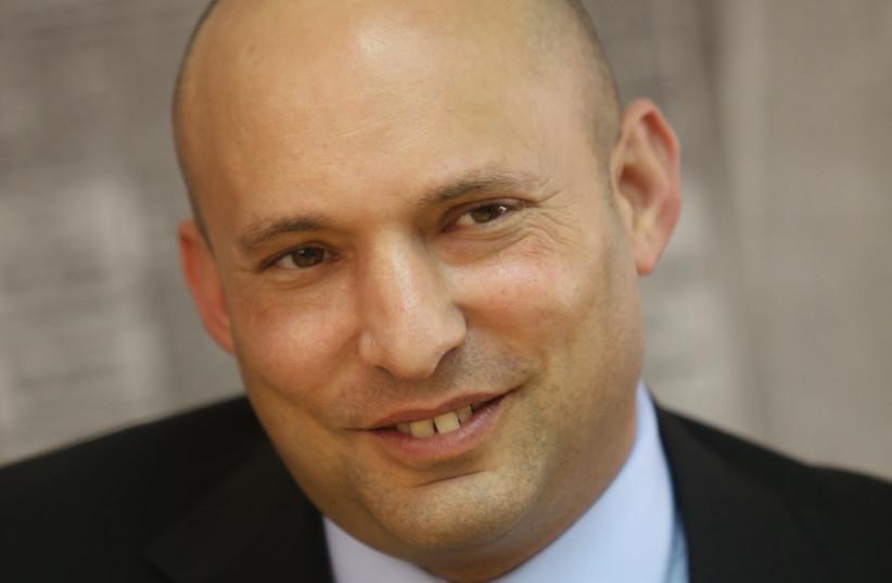 Education Minister Naftali Bennett (photo credit: MARC ISRAEL SELLEM)