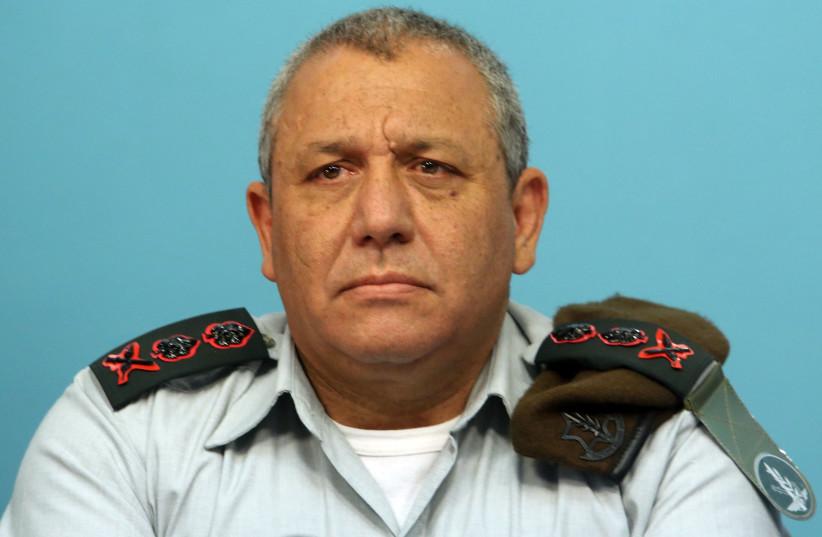 Gadi Eizenkot IDF Chief of Staff Lt.-Gen. (photo credit: MARC ISRAEL SELLEM)