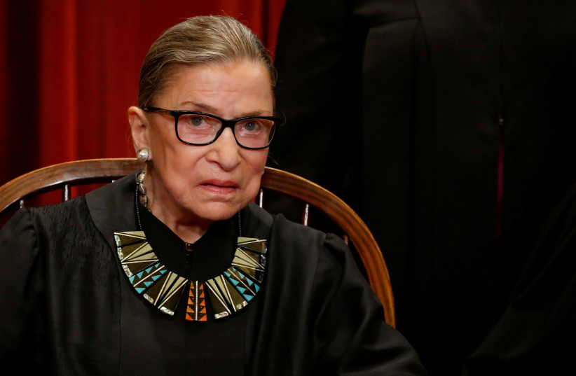 Supreme Court Justice Ruth Bader Ginsburg in Hospital for Treatment of Possible Infection