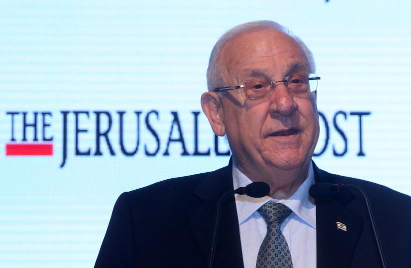 President Reuven Rivlin  (photo credit: MARC ISRAEL SELLEM)