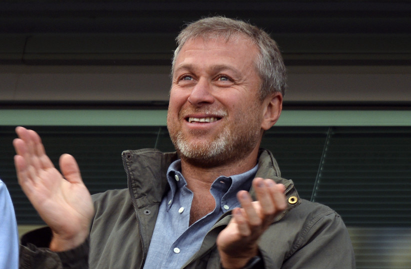 Roman Abramovich,  the Russian billionaire businessman and owner of the soccer team Chelsea FC. (photo credit: REUTERS)