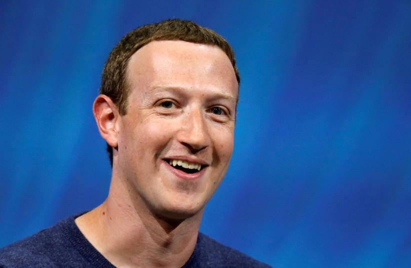 Facebook CEO Mark Zuckerberg (photo credit: REUTERS)