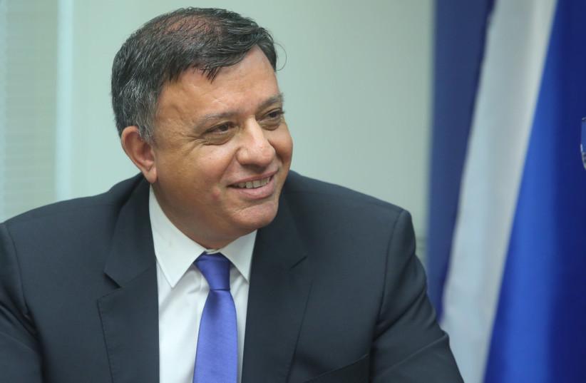 Labor leader Avi Gabbay  (photo credit: MARC ISRAEL SELLEM)